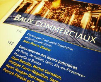 AJDI DALLOZ SPECIAL BAUX COMMERCIAUX IFC EXPERTISE EXPERTS IMMOBILIERS LYON FRANCE